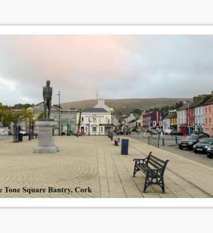Wolfe Tone Square Bantry, Cork Sticker