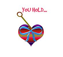 You hold the key to my heart by JoAnnFineArt