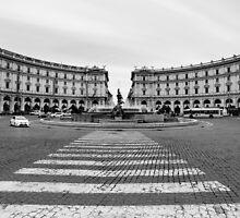 Repubblica, Rome, Italy by Andrew Jones
