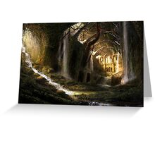 Fantasy Temple Greeting Card