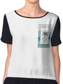 The Insect 3 Chiffon Top