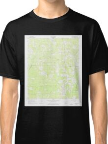 USGS TOPO Map Arkansas AR Lamartine 258897 1968 24000 Classic T-Shirt