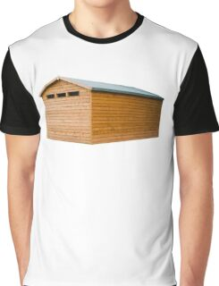 Garden Shed Natural Wood Graphic T-Shirt