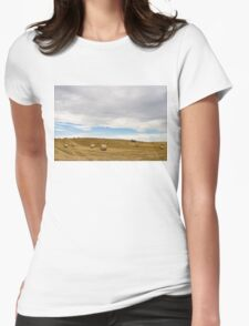 Clearing Sky -  Womens Fitted T-Shirt