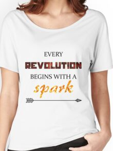The Hunger Games - Spark  Women's Relaxed Fit T-Shirt