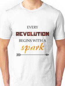 The Hunger Games - Spark  Unisex T-Shirt