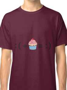 Formula For Happiness (Cupcake) Classic T-Shirt