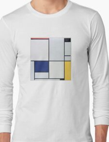 Piet Mondriaan, Tableau I Long Sleeve T-Shirt