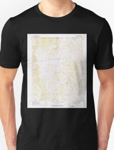 USGS TOPO Map Arkansas AR Blue Eye 258004 1972 24000 Unisex T-Shirt
