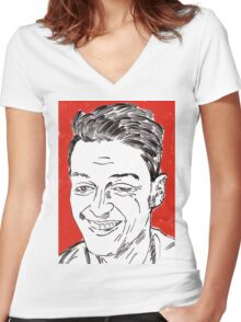 Mesut Ozil Women's Fitted V-Neck T-Shirt