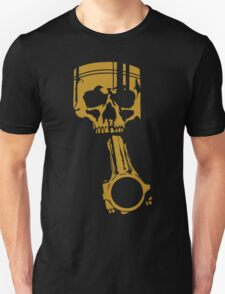 Skull Piston Boost JDM Tuning Drift Unisex T-Shirt