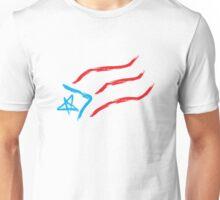 Puerto Rico Sketch Flag Unisex T-Shirt