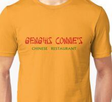 Genghis Connie's Chinese Restaurant Shirt Unisex T-Shirt