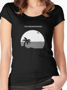 the neighbourhood beach band 01 Women's Fitted Scoop T-Shirt