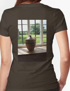 Pot in the Window Womens Fitted T-Shirt