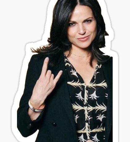 Lana Parrilla  Sticker