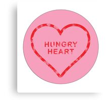 Hungry Loveheart Canvas Print