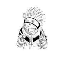 NARUTO: Naruto Kakashi Impression  Photographic Print