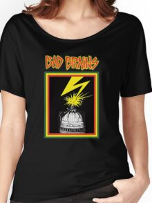 bad brains logo Women's Relaxed Fit T-Shirt