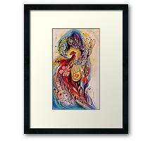 The Splash Of Life 6 Framed Print