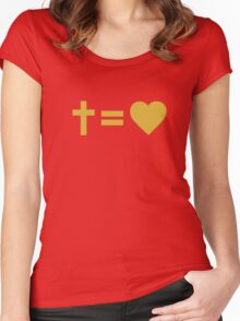 Christian Symbol Women's Fitted Scoop T-Shirt