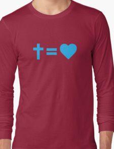 Christian Symbol Long Sleeve T-Shirt