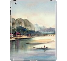 "From series ""Distant countries"" - East Asia iPad Case/Skin"