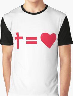 Christian Symbol Graphic T-Shirt
