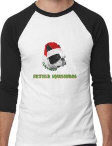 Father Squishmas Men's Baseball ¾ T-Shirt