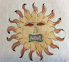 Angry Sun by Gamkata