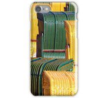 Beach chairs iPhone Case/Skin