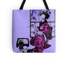 Lightly Brush Ink Tote Bag