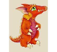Baby Kobold D&D Monster Photographic Print