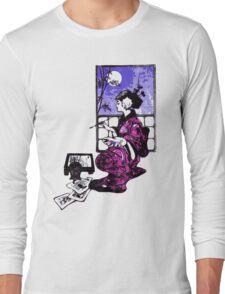 Lightly Brush Ink Long Sleeve T-Shirt