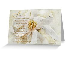God does all things-Ecclesiastes 11:5 Greeting Card