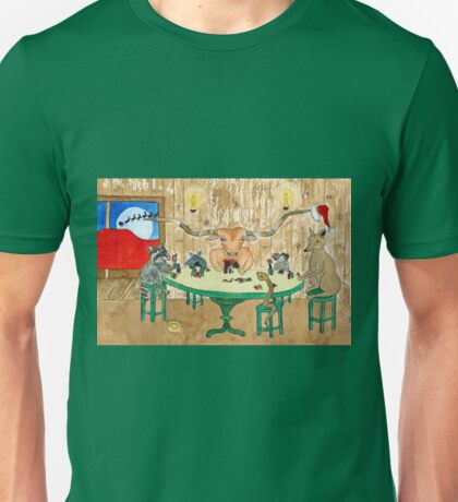 Happy Holidays from Texas Unisex T-Shirt