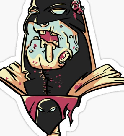 Zombie Space Ghost Sticker