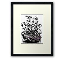 happiness is.... Framed Print