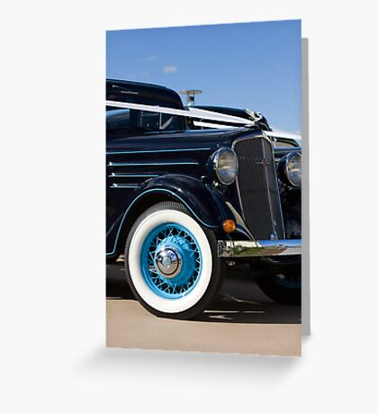 Chevrolet Classic Greeting Card