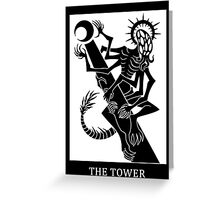 The Devil of Tower Greeting Card