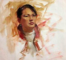 Nellie, Life study by Chris Saper