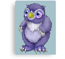 Baby Owlbear D&D Monster Canvas Print