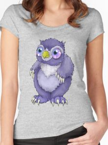 Baby Owlbear D&D Monster Women's Fitted Scoop T-Shirt