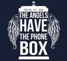 The Angels Have The Phonebox by CuteCrazies