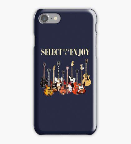 Select play & enjoy iPhone Case/Skin
