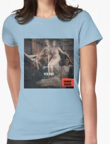 Yeezus The King Womens Fitted T-Shirt