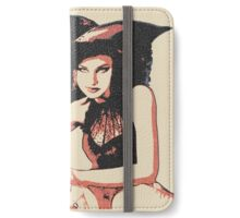 Trick or treat? Sexy Halloween witch iPhone Wallet/Case/Skin