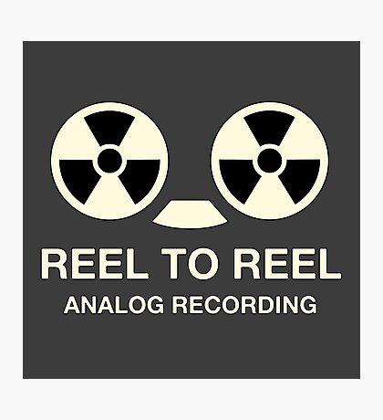 Vintege reel to reel Photographic Print