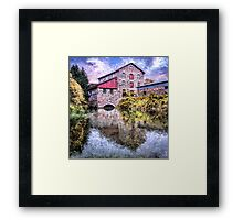 Old Stone Mill Framed Print