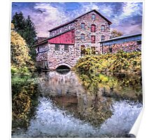 Old Stone Mill Poster